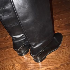 Christian Louboutin Croche Cate riding boots